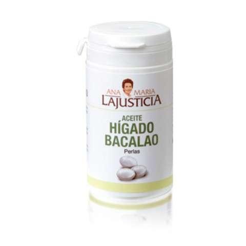 Ana María Lajusticia Aceite de Hígado de Bacalao, 90 perlas.