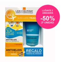 La Roche Posay Kit Viaje Anthelios Dermo-Pediatrics SPF50 100ml + REGALO Posthelios 100ml. | Farmaconfianza