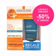 La Roche Posay Kit de Viaje Anthelios XL Leche Confort SPF50 100ml + REGALO Posthelios 100ml. | Farmaconfianza