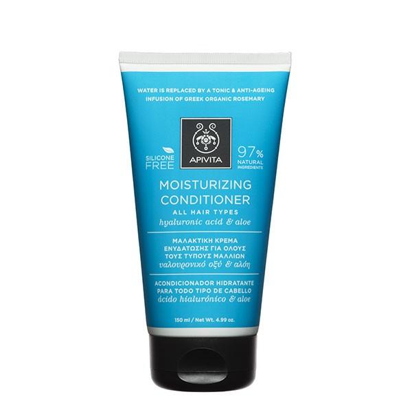 Apivita Acondicionador Hidratante para todo tipo de cabello, 150 ml