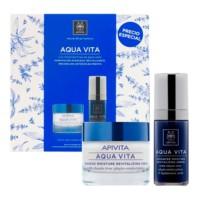 Apivita Aqua Vita Cofre Regalo Sérum + Crema Gel | Farmaconfianza | Farmacia Online