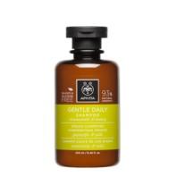 Apivita Mini Champú para uso frecuente con camomila y miel, 75 ml.