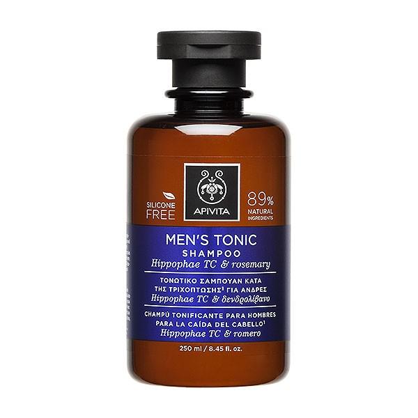 Apivita Champú Tonificante Anticaída para Hombres, 250 ml | Farmaconfianza