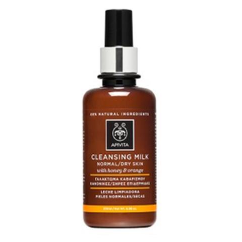 Apivita Cleansing Leche Limpiadora piel normal-seca, 200 ml