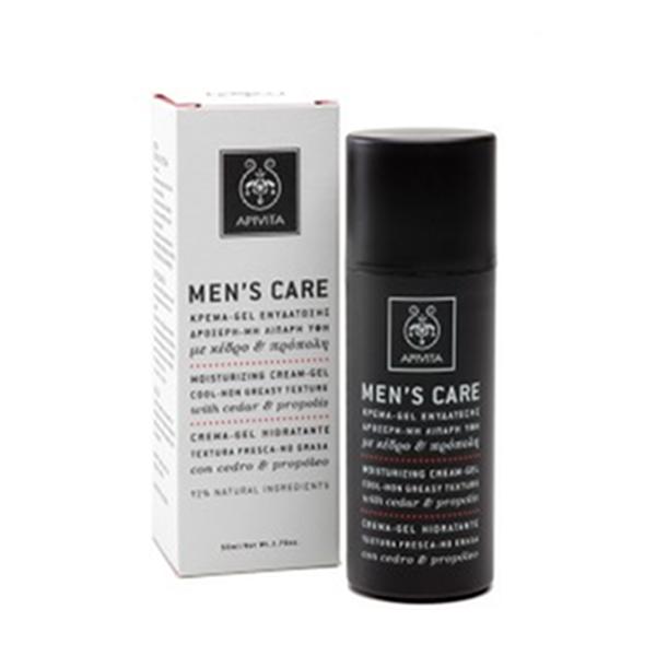 Apivita Men`s Care Crema-Gel Hidratante, 50 ml