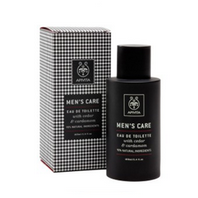 Apivita Men`s Care Agua de Colonia con cedro y cardamomo, 100 ml
