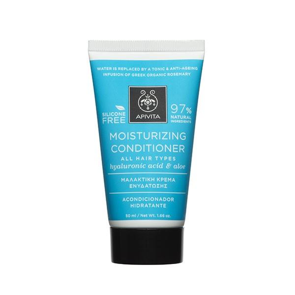 Apivita Mini Acondicionador Hidratante para todo tipo de cabello, 50 ml