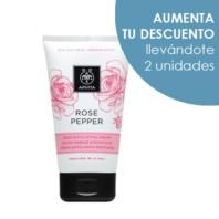 Apivita Rose Pepper Crema de Exfoliación Profunda, 150 ml.