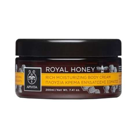 Apivita Royal Honey Crema Corporal Hidratante, 200 ml
