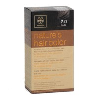 Apivita Tinte para el Cabello Nature's Hair Color sin PPD, color 7.0 Rubio