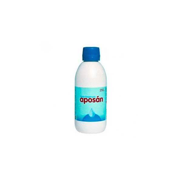 Aposán Agua Oxigenada, 250 ml|Farmaconfianza