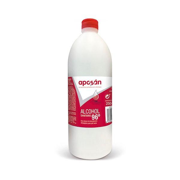 Aposán Alcohol Sanitario 96º, 250 ml