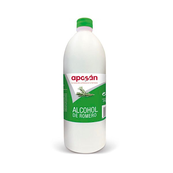 Aposán Alcohol de Romero, 250 ml|Farmaconfianza