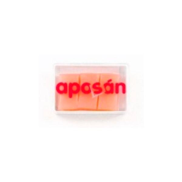 Aposán Tapones Oídos de Silicona, 6 unidades