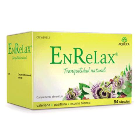 Aquilea EnRelax con Valeriana, Pasiflora y Espino Blanco, 84 cápsulas