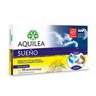 Aquilea Sueño Melatonina, Valeriana, Pasiflora y Amapola, 30 comprimidos bicapa