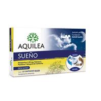 Aquilea Sueño Melatonina, Valeriana, Pasiflora y Amapola, 15 comprimidos bicapa