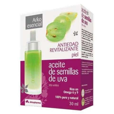 Arko Esencial Aceite de Semillas de Uva Antiedad Revitalizante, 30 ml.