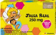 Arko Real Jalea Real 250 mg Abeja Maya, 20 ampollas