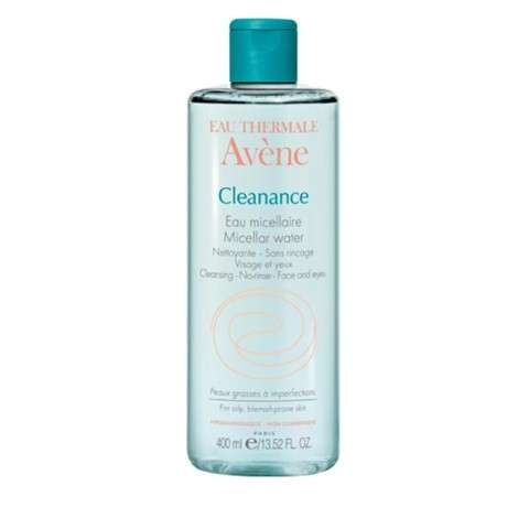 Avène Cleanance Agua Micelar Pieles Grasas, 400 ml.