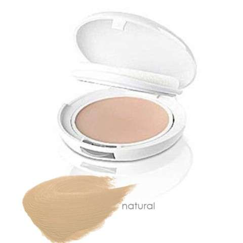 Avène Crema compacta, color natural