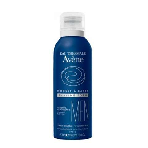 Avène Men Espuma de Afeitar Pieles Sensibles, 200 ml