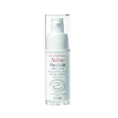 Avène PhysioLift Contorno de Ojos antiarrugas, bolsas y ojeras, 15 ml