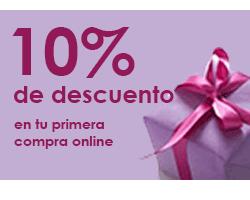 10 por ciento descuento primera compra