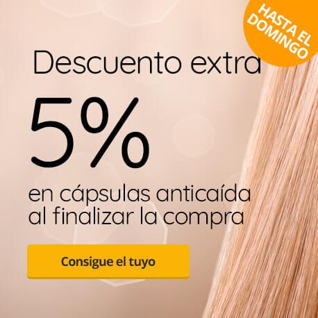 5% dto capsulas pelo
