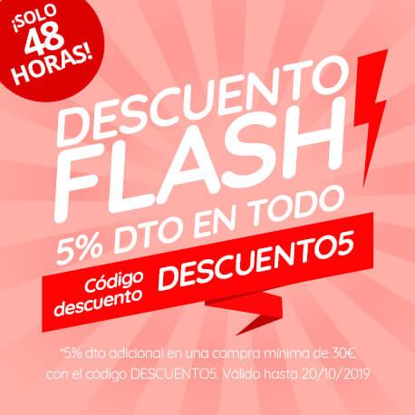 DTO 5% flash