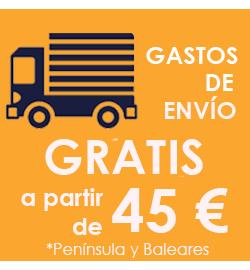 ENVÍOS GRATIS A PARTIR DE 45€