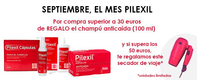 Promoción de Pilexil Anticaída en Farmaconfianza