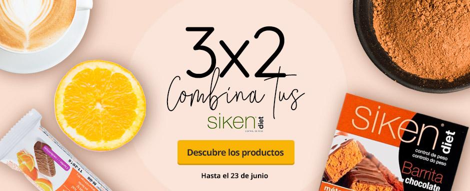 3x2 Siken diet