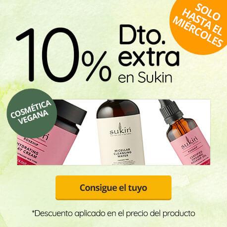 descuento 10% Sukin