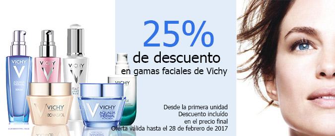 Vichy oferta 25% de descuento