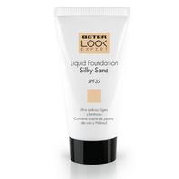 Beter Look Expert Base de Maquillaje Líquida SPF35, Tono Silky Sand