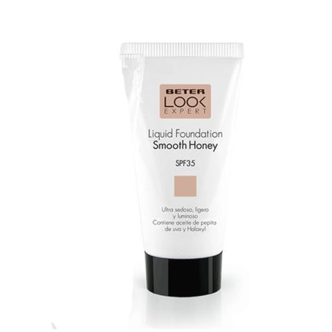 Beter Look Expert Base de Maquillaje Líquida SPF35, Tono Smooth Honey