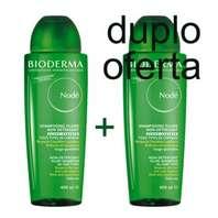 Bioderma Nodé Fluido Champú no detergente de uso frecuente, DUPLO 2 x 400 ml