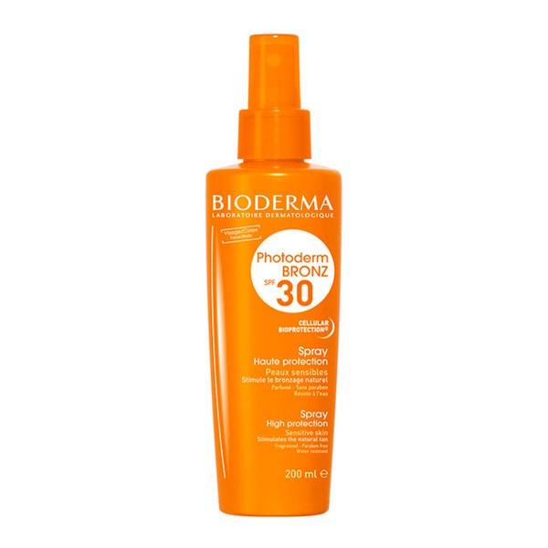 Bioderma Photoderm Bronz Aceite Seco Spray SPF30, 200 ml