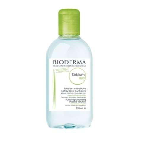 Bioderma Sebium H2O Solución Micelar Pieles Mixtas, 250 ml.