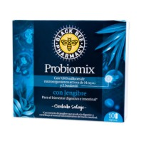 Black Bee Pharmacy Probiomix con Jengibre cuidado digestivo   Farmaconfianza