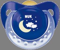 Nuk Chupete Látex Noche y Día T1, Blíster: 1U.
