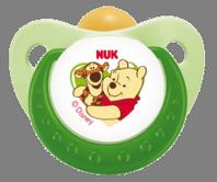 Nuk Chupete Látex Winnie de Pooh T3, Blíster de 2 U.