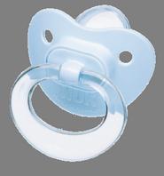 Nuk Chupete Látex Blue T1 Con Anilla - Blíster: 2U.