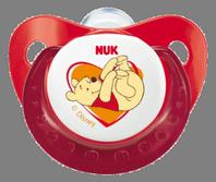 Nuk Chupete Silicona Winnie de Pooh T2, Blíster de 2U.