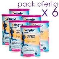 Pack 6 unidades Colnatur Complex Colágeno Hialurónico Magnesio y Vitaminas Sabor Frutos del Bosque,