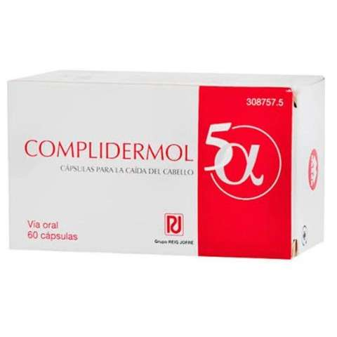 Complidermol 5 Alfa, 60 cápsulas
