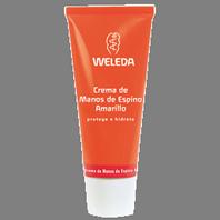 Weleda Crema de Manos Hidratante de Espino Amarillo, 50 ml