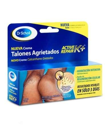 Dr. Scholl Crema Talones Agrietados Active Repair K+™.
