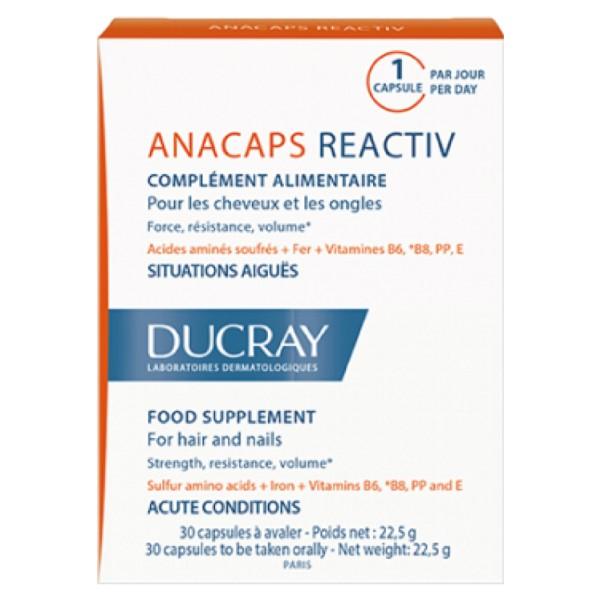 Ducray ANACAPS concentrado, 30 cápsulas